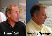 Hans Rufli and Timothy Springer